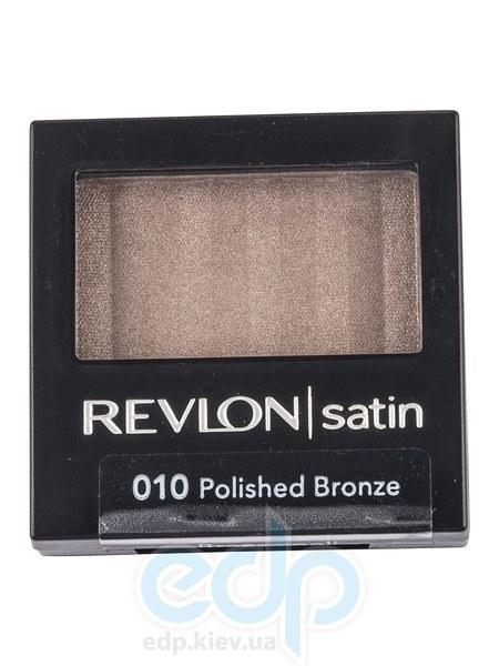 Тени для век Revlon - Luxurious Color Satin №010 Полированная бронза