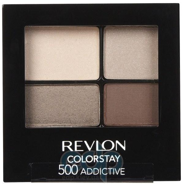 Тени для век cтойкие 16-часовые Revlon - Colorstay №500 Опьяняющий