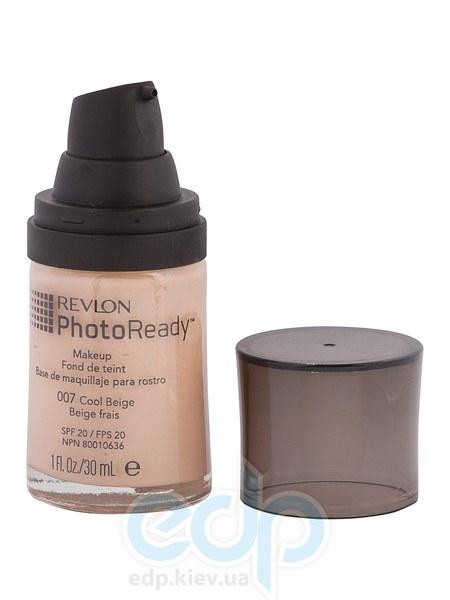 Тональный крем светоотражающий Revlon - Photo Ready №007 Холодный беж - 30 ml