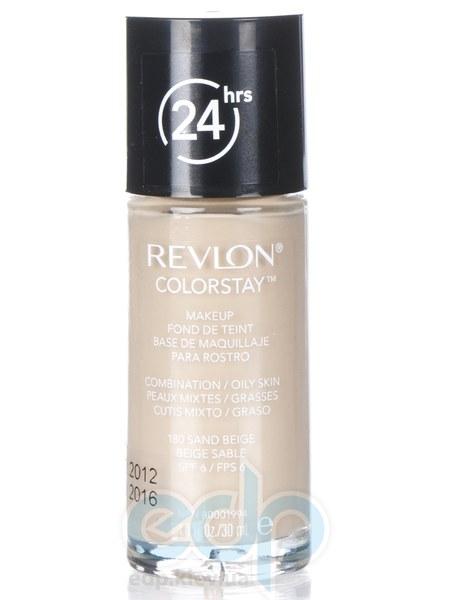 Тональный крем стойкий для комбинированной/жирной кожи Revlon - Colorstay Makeup with Softflex №180 Песочный беж