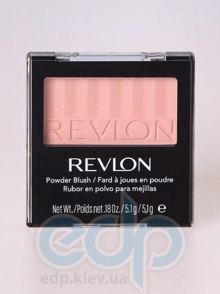 Румяна для лица с зеркалом Revlon - Powder Blush №003 Идеально персиковый