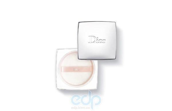 Christian Dior - Пудра для лица рассыпчатая, выравнивающая тон кожи Diorskin Nude Rose Powder № 001 - 12 g