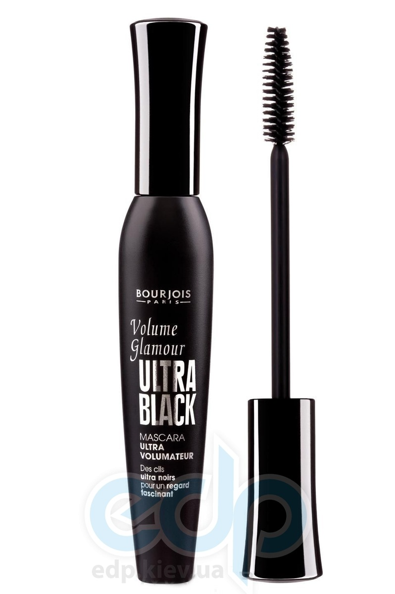 Тушь для ресниц Bourjois - Volume Glamour Ultra Black №61 Чёрная - 12 ml на планшете