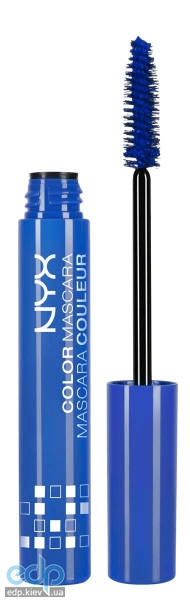 NYX - Тушь для ресниц Color Mascara Blue CM02 - 9 ml