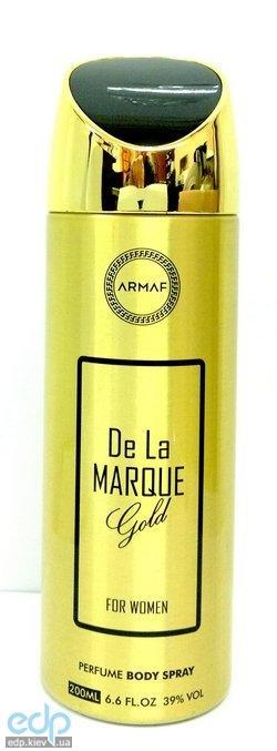 Sterling De La Marque Gold - дезодорант спрей - 200 ml