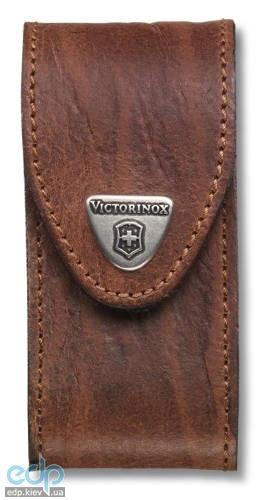 Чехол для ножа Victorinox - на ремень 111 мм коричневый на липучке (4.0545)
