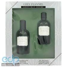 Geoffrey Beene Grey Flannel -  Набор (туалетная вода 120 + бальзам после бритья 120)