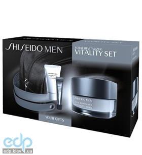 Shiseido - Набор Men Total Revitalizer (Крем для лица - Shiseido Men Total Revitalizer 50ml + Очищающая пенка для мужчин - Shiseido Men Cleansing Foam 30ml + Гель вокруг глаз - Shiseido Men Eye Soothe