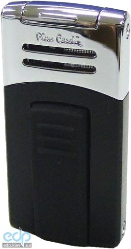 Pierre Cardin - Зажигалка газовая турбо черный лак/хром (арт. MF-202-01)