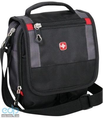 Wenger - Сумка дорожная для документов Mini boarding bag черный/серый 16 x 8 x 19 см (арт. 1092239)