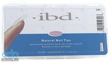 ibd - Natural Nail Tips Натуральные типсы № 3 Refill - 50 шт