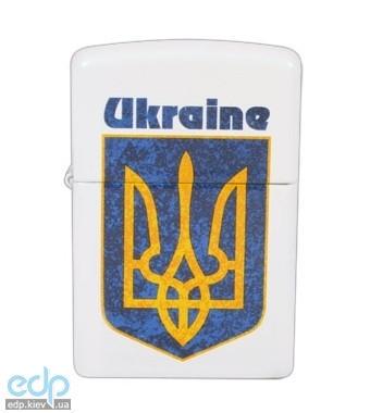Зажигалка Zippo - Ukraine Coat of Arms 2 (214UC)