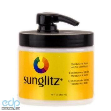 Sunglitz Moisturize & Shine Intense Conditioner - Кондиционер для интенсивного увлажнения и блеска - 450 ml (арт. SGC2216)