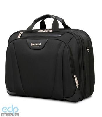 Wenger - Сумка Triple Compartment Briefcase черная с отделением для ноутбука 15 полиэстер 43.5 х 35 х 18 см (арт. 72992298)