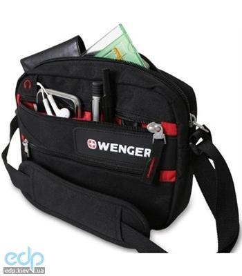 Wenger - Сумка дорожная для документов Horizontal accessory bag черный/красный 21 x 5.5 x 15 см (арт. 18322135)