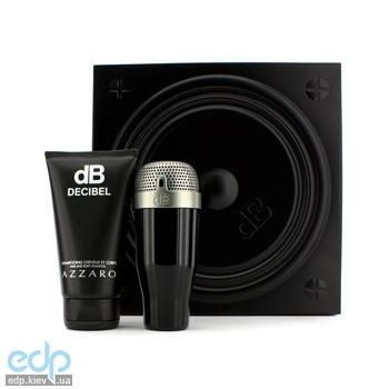 Azzaro Decibel for Men -  Набор (туалетная вода 100 ml + шампунь 150 ml)