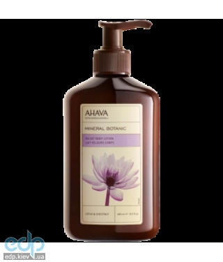 Ahava - Нежное молочко для тела лотос/сладкий каштан - Mineral Botanic Body Lotion Lotus - 400 ml