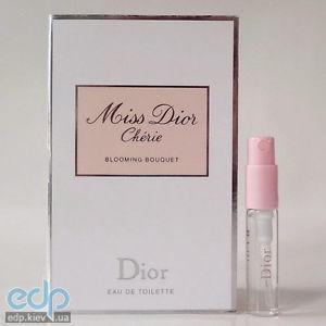 Christian Dior Miss Dior Blooming Bouquet - туалетная вода - пробник  (виалка) - 2 83f3e865e487a