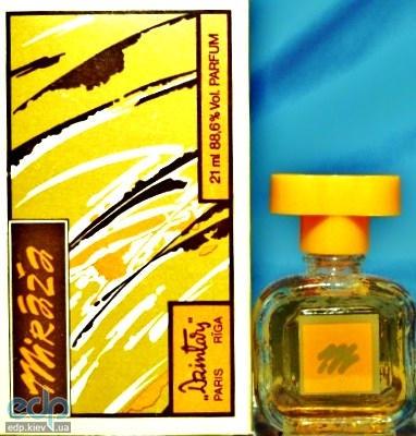 Винтажная парфюмерия Dzintars