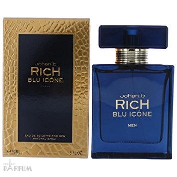 Geparlys Johan B Rich Blu Icone