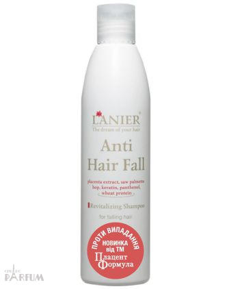 Lanier Cosmetics - Anti hair fall shampoo - Восстанавливающий шампунь против выпадения волос - 250 ml