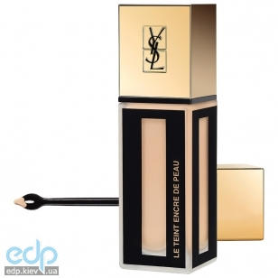 Yves Saint Laurent - Крем тональный для лица стойкий, матирующий Encre De Peau BD10 SPF18 - 30 ml
