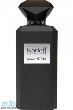 Korloff Paris Black Vetiver - туалетная вода - 88 ml TESTER