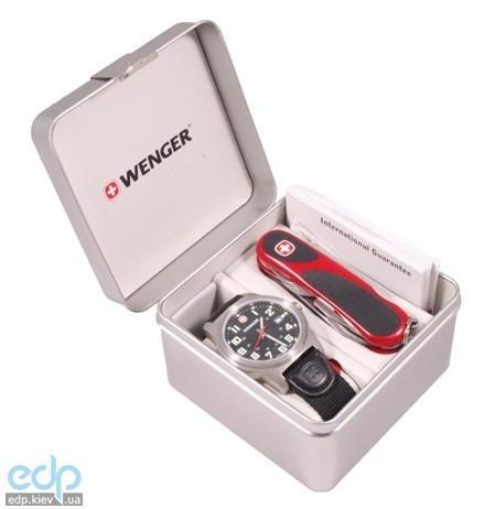 Wenger - Набор наручные часы Field Classic 72805W и нож EvoGrip 1.10.09.821 (арт. 72805W)