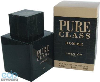 Karen Low Pure Class Men - туалетная вода - 100 ml