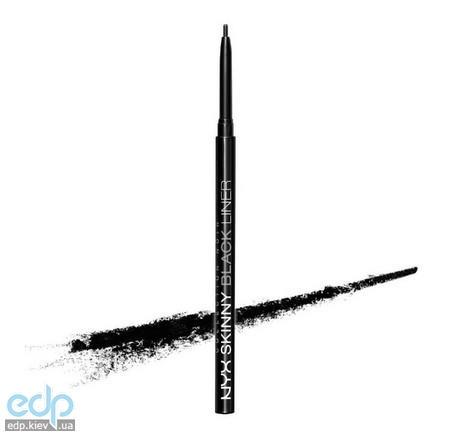 NYX - Collection Noir Skinny black liner Супер-тонкий черный карандаш для глаз BEL05 - 0.09 g