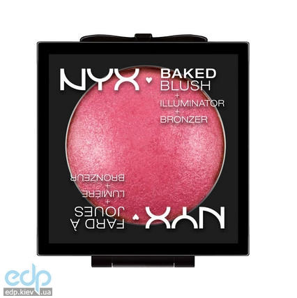 NYX - Запеченные румяна Baked Blush Pink Fetish BBL03 - 6.5 g