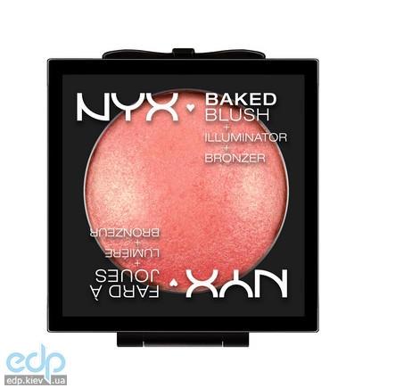 NYX - Запеченные румяна Baked Blush Foreplay BBL05 - 6.5 g