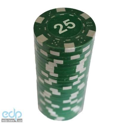 Настольная игра - Набор для покера Duke 25 фишек, номинал 25 (арт. MA03)