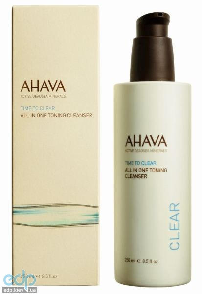 Ahava - Тонизирующее очищающее средство Все в одном - All In One Toning Cleanser - 250 ml