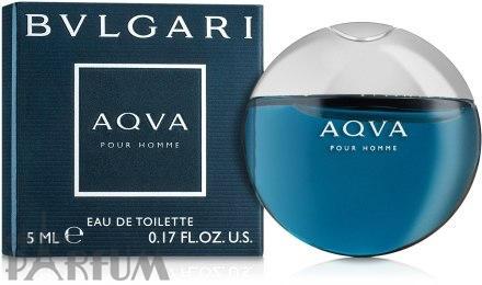 Bvlgari Aqva Pour Homme - туалетная вода -  mini 5 ml