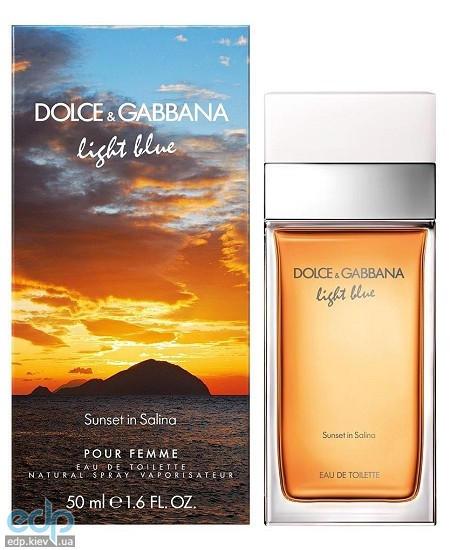 Dolce Gabbana Light Blue Sunset in Salina