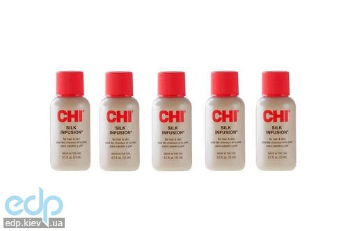 CHI Silk Infusion - Комплект из 4 шт восстанавливающего шелкового комплекса по 15 ml (арт. CMF0015)