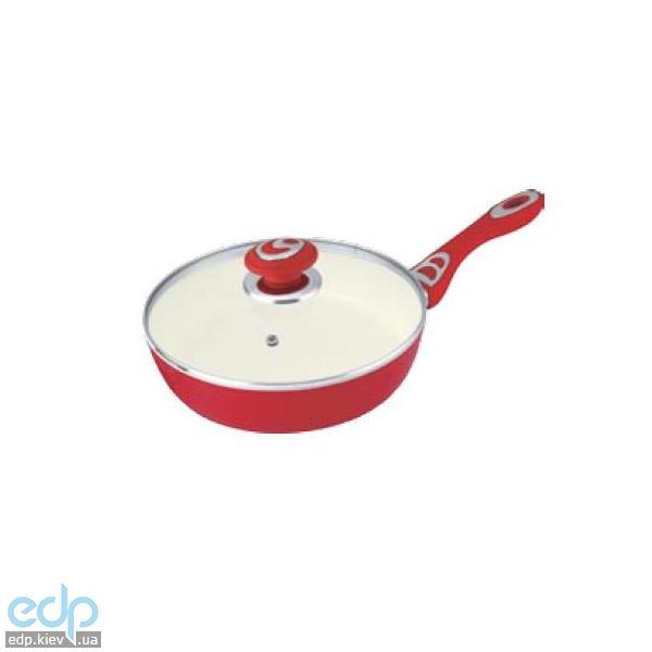 Lessner - Сковорода Cooker Mix с крышкой диаметр 28 см (арт. ЛС88702-28)