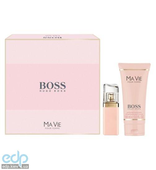 Hugo Boss Boss Ma Vie Pour Femme - Набор (парфюмированная вода 30 + лосьон-молочко для тела 100)