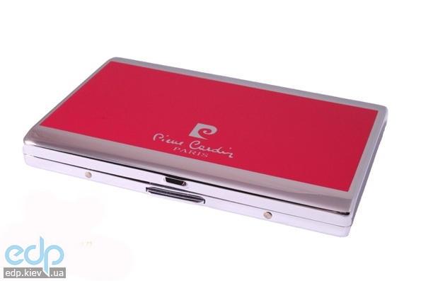 Pierre Cardin - Портсигар на 7 сигарет серебристый/красный 93 х 61 х 10 мм (арт. P-900-02)