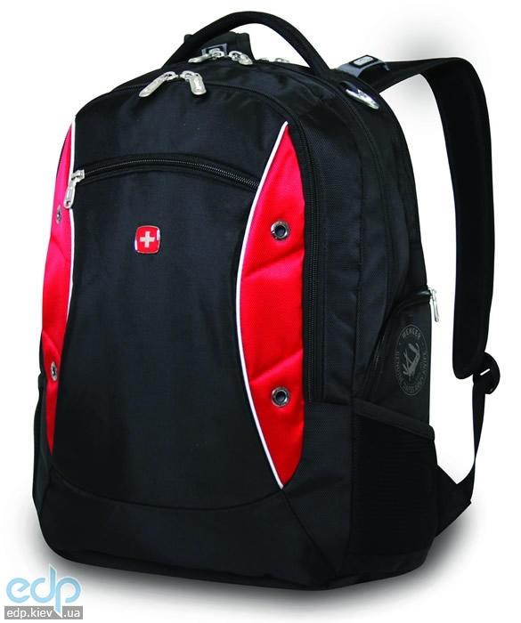 Wenger - Рюкзак для ноутбука черный/красный 34 х 19 х 46 см полиэстер 1200D (арт. 11912115)