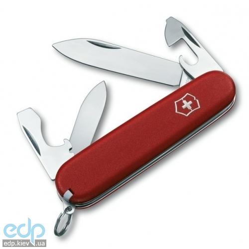 Складной нож Victorinox - EcoLine Recruit - 84 мм, 10 функций матовый нейлон красный (2.2503)