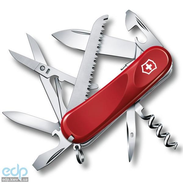 Складной нож Victorinox - Delemont Evolution S17 - 85 мм, 15 функций красный (2.3913.SE)