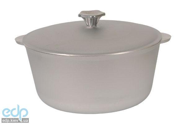 Биол - Кастрюля с крышкой алюминий диаметр 17 см объем 1 л (КО100)