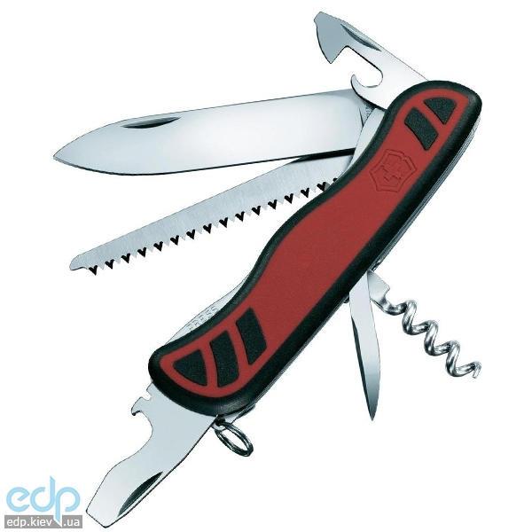Складной нож Victorinox - Forester - 111 мм, 10 функций черный/красный (0.8361.C)
