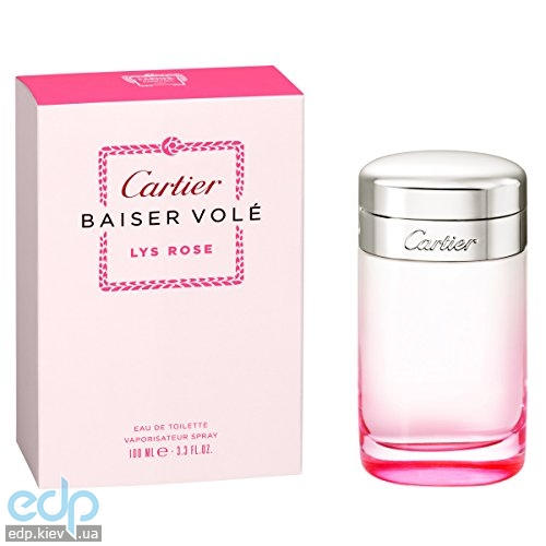Cartier Baiser Vole Lys Rose - туалетная вода - 30 ml