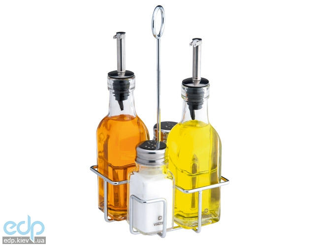 Vinzer - Набор для специй - 5 предметов, для соли и перца, масла и уксуса (арт. 89265)