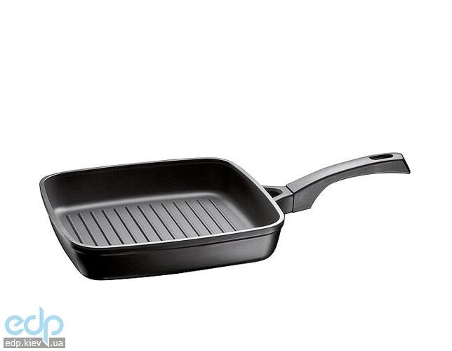 Vinzer - Сковорода-гриль (Cast Form Classic) - Квадратная, 26 x 26 см, покрытие Teflon Platinum (арт. 89405)