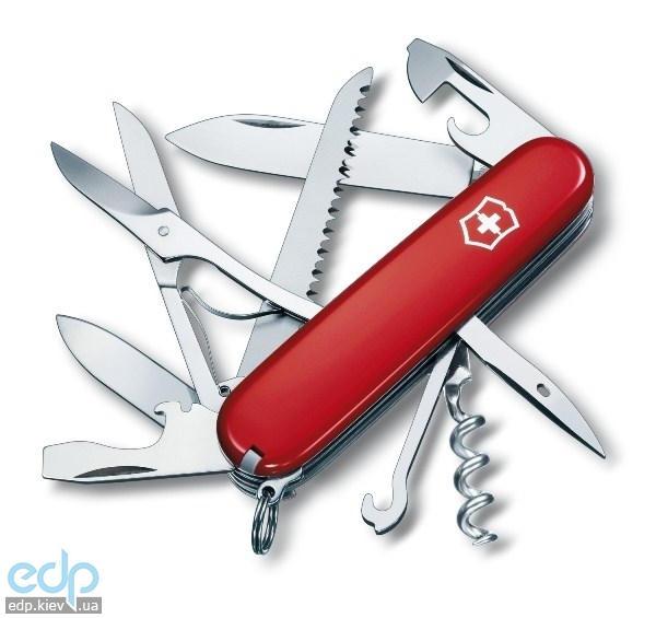 Складной нож Victorinox - Huntsman - 91 мм, 15 функций красный (1.3713)