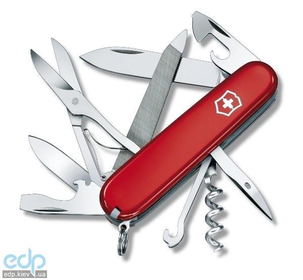 Складной нож Victorinox - Mountaineer - 91 мм, 18 функций красный (1.3743)